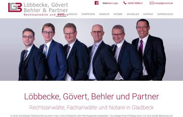 Vorschau von www.loebbecke-buese.de, Löbbecke & Büse