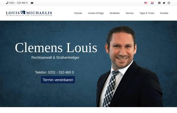 Vorschau von www.rechtsanwalt-louis.de, Louis, Clemens