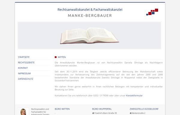 Vorschau von www.manke-bergbauer.de, Manke-Bergbauer Irmtraud