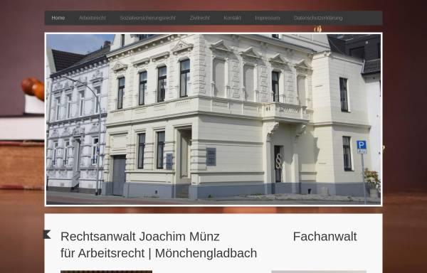 Vorschau von www.kanzlei-muenz.de, Münz, Joachim