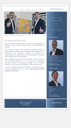 Vorschau der mobilen Webseite www.rae-prange-frittgen.de, Prange & Frittgen