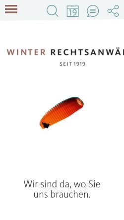 Vorschau der mobilen Webseite www.rechtsanwaelte-bergisch-gladbach.de, Rechtsanwälte Winter Jansen Lamsfuß