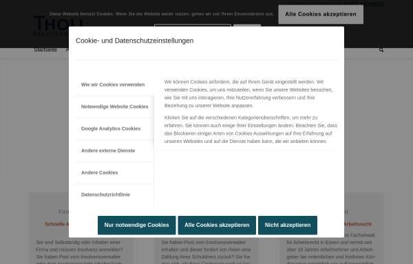 Vorschau von www.kanzlei-tholl.de, Tholl Dirk
