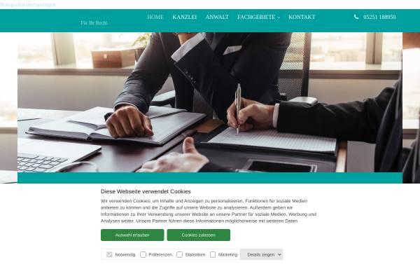 Vorschau von www.kanzlei-weigel.de, Weigel & Partner