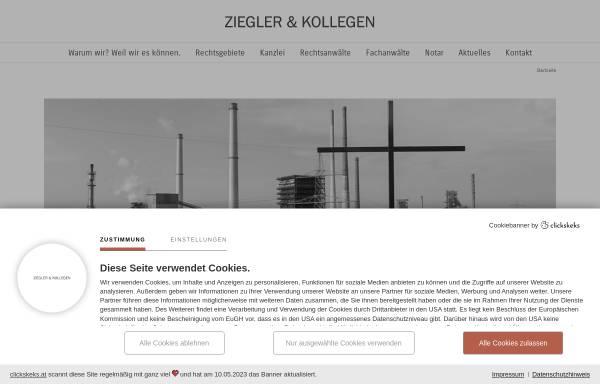 Vorschau von www.zieglerundkollegen.de, Ziegler & Kollegen