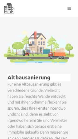 Vorschau der mobilen Webseite www.das-immobilien-lexikon.de, Das-Immobilien-Lexikon.de, Ronny Meyer