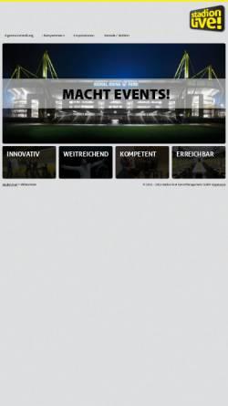 Vorschau der mobilen Webseite www.stadion-live.de, Signal Iduna Park
