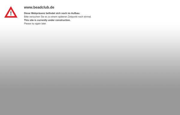 Vorschau von www.beadclub.de, Perlentreff.de