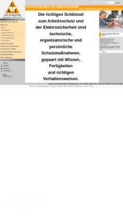 Vorschau der mobilen Webseite www.schuchardt-gmbh.de, G. Schuchardt GmbH - Fachunternehmen für Arbeitssicherheit