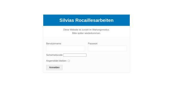 Vorschau von www.rocailles.info, Silvias Rocailles Arbeiten