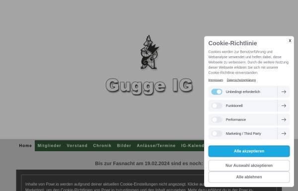 Vorschau von www.gugge-ig-basel.ch, Gugge-IG Basel