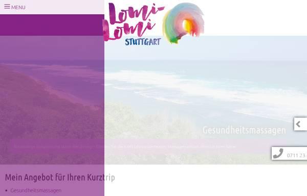 Vorschau von www.lomi-lomi-stuttgart.de, Hartmann, Meike-Gesine