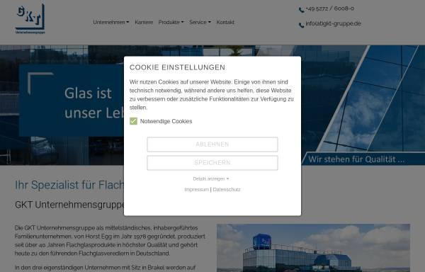 Vorschau von www.gkt-gruppe.de, GKT-Unternehmensgruppe