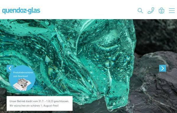 Vorschau von www.quendoz-glas.ch, Quendoz Glas AG