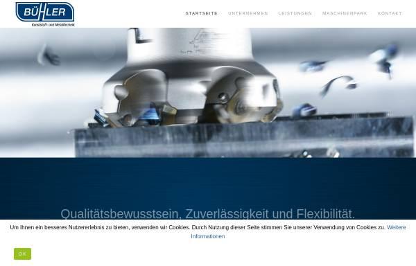 Vorschau von www.buehler-factory.de, Bühler Kunststoffverarbeitung GmbH