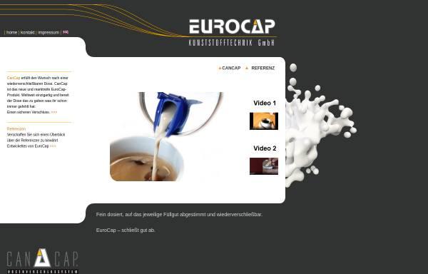 Vorschau von www.euro-cap.de, Euro-Cap Kunststofftechnik GmbH
