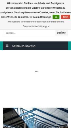 Vorschau der mobilen Webseite www.heku-pack.de, Heku-Pack Verpackungen GmbH