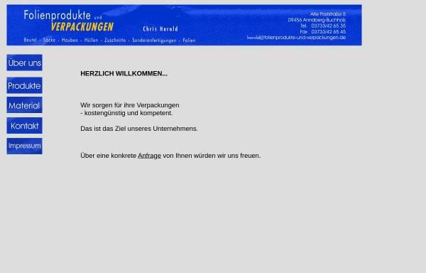Vorschau von www.folienprodukte-und-verpackungen.de, Jonny Hähnchen