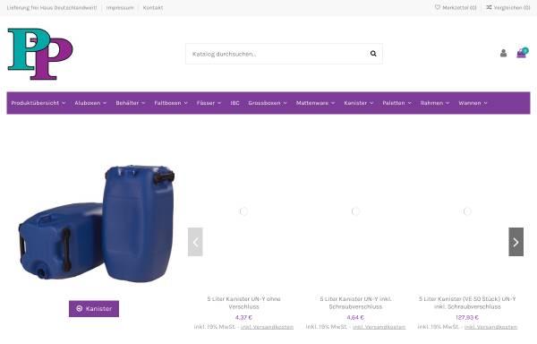 Vorschau von www.paulpeter-shop.de, Paul Peter Kunststoffprodukte