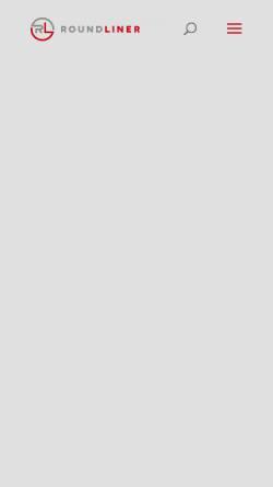 Vorschau der mobilen Webseite www.kritzer.de, Peter Kritzer - Kunststoffverarbeitung und Roundliner Ges. für Umweltfreundliche Verpackungen mbh