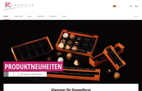Vorschau von www.regapack.ch, Regapack AG