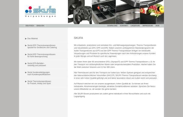 Vorschau von www.skufa.de, Skufa GmbH