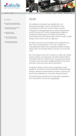 Vorschau der mobilen Webseite www.skufa.de, Skufa GmbH