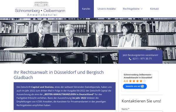 Vorschau von www.dr-schnorrenberg.de, Dr. Schnorrenberg