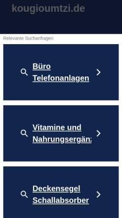 Vorschau der mobilen Webseite www.kougioumtzi.de, Kougioumtzi