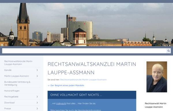 Vorschau von lauppe-assmann.de, Rechtsanwalt Martin Lauppe-Assmann