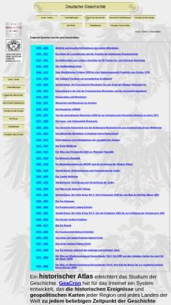 Vorschau der mobilen Webseite geschichtsverein-koengen.de, Deutsche Geschichte, Epochen