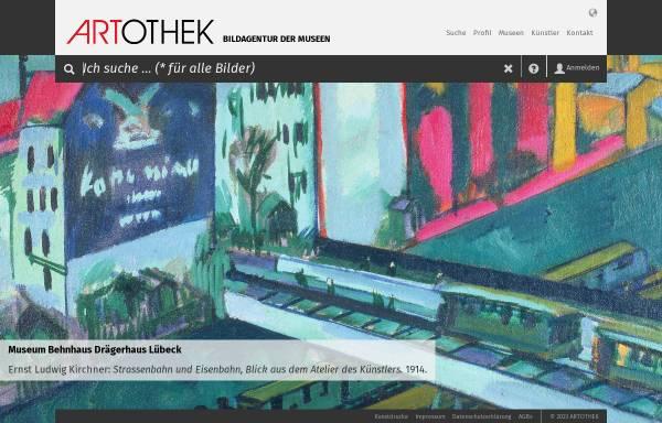 Vorschau von www.artothek.de, Artothek Kunstfotoarchiv