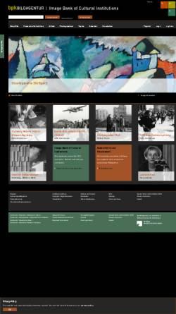 Vorschau der mobilen Webseite bpkgate.picturemaxx.com, Bildarchiv Preußischer Kulturbesitz (bpk)