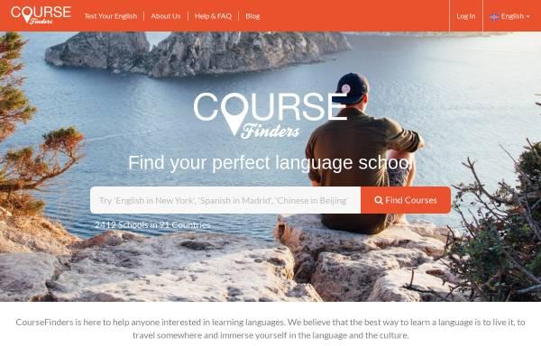Vorschau von www.coursefinders.com, ICF Internet Course Finders AG