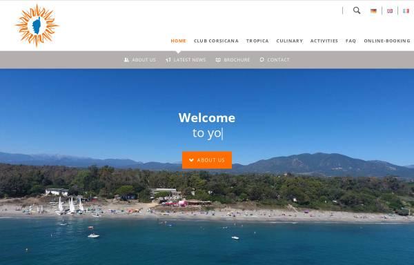 Vorschau von www.club-corsicana.de, Dr. Hofmann Holiday-Service