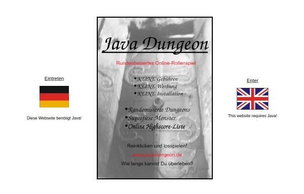 Vorschau von www.java-dungeon.de, Java Dungeon