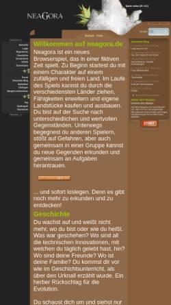 Vorschau der mobilen Webseite neagora.de, Neagora