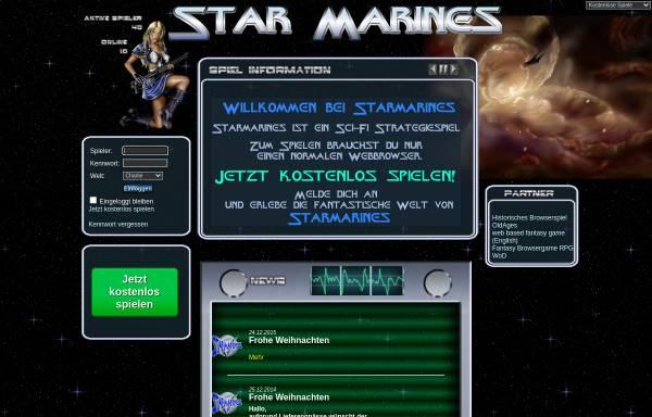 Vorschau von starmarines.de, StarMarines