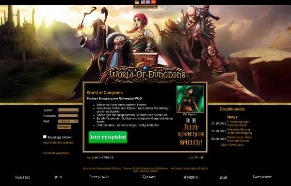 Vorschau von www.world-of-dungeons.de, World of Dungeons