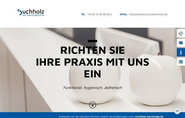 Vorschau von www.buchholz-gmbh.de, Buchholz Innenausbau GmbH