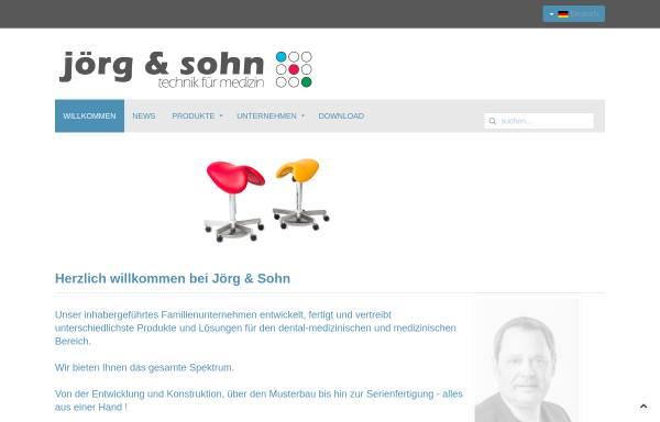 Vorschau von www.joergundsohn.de, Jörg und Sohn GmbH