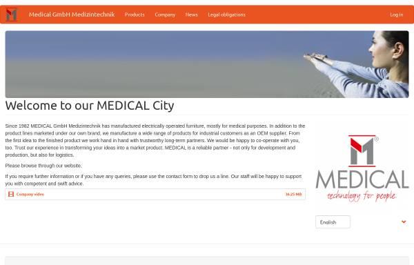 Vorschau von www.medical-city.de, Medical GmbH