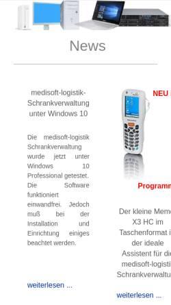 Vorschau der mobilen Webseite www.medi-system.de, Medi-System GmbH