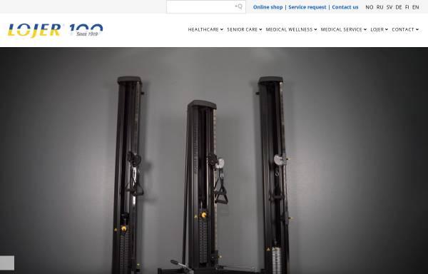 Vorschau von www.lojer.de, Medizin Technische Geräte - Peter Voss