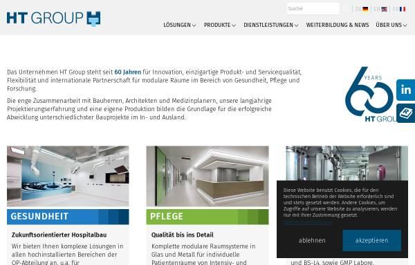 Vorschau von www.hospitaltechnik.de, Opitz + Flierl Hospitaltechnik AG