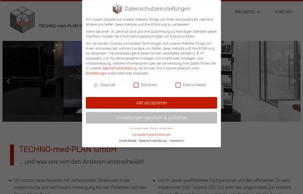 Vorschau von www.technomedplan.de, Techno-med-Plan GmbH