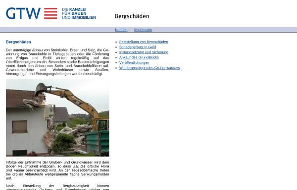 Vorschau von www.info-bergschaden.de, info-bergschaden.de