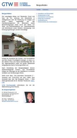 Vorschau der mobilen Webseite www.info-bergschaden.de, info-bergschaden.de