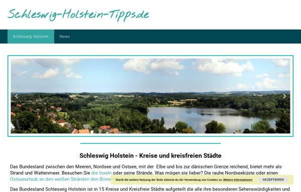Vorschau von www.schleswig-holstein-tipps.de, Schleswig-Holstein-Tipps