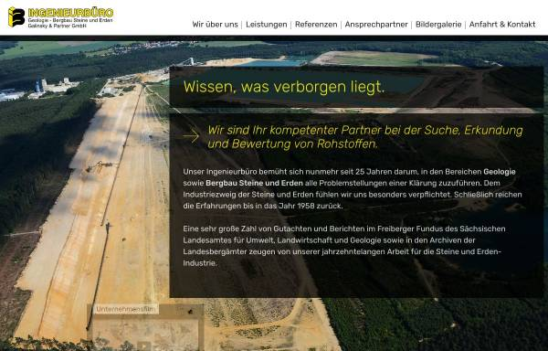 Vorschau von www.ib-galinsky-fg.de, Ingenieurbüro Galinsky und Partner